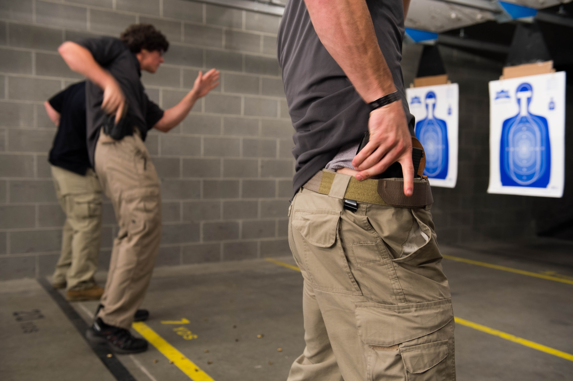Concealed Carry at Shooting Range